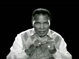 Un viejo Muhammad Ali