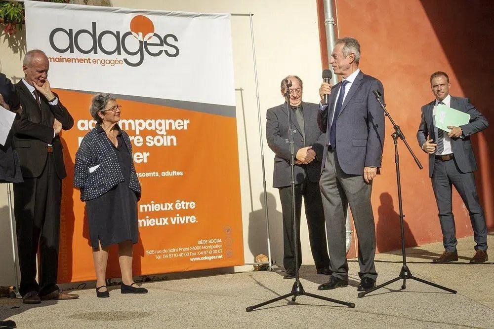 Monsieur Jean Trinquier, Président de la Communauté de Communes Lodèvois Larzac
