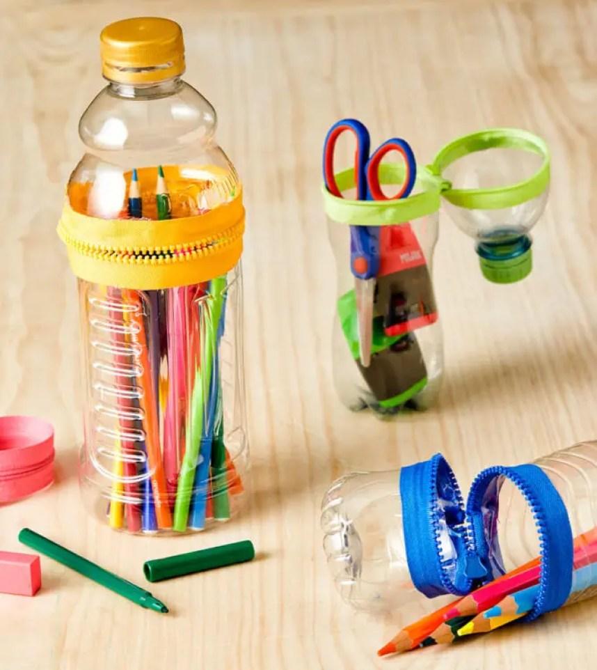 Cara Membuat Kerajinan Tangan dari Botol Bekas