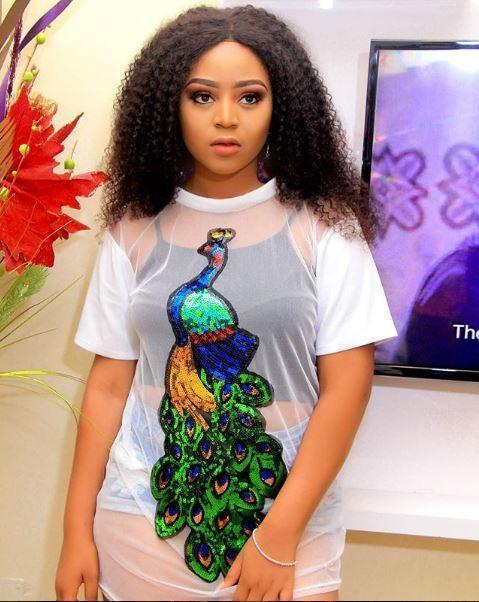Actress Regina Daniels shares beautiful picture of her family.