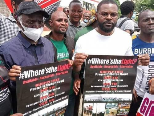 Falz Join Protest Against Insecurity, Bad Governance In Lagos