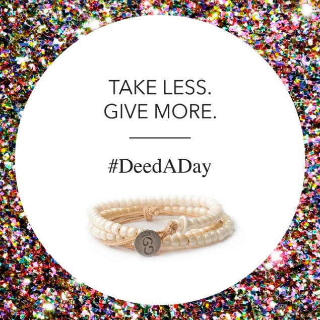 The 1GD Bracelet is a good reminder of my commitment to do a #DeedADay