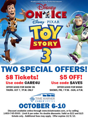 """Disney on Ice Mom Blog Offer"""