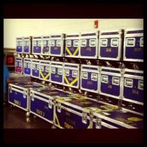 Cirque du Soleil Alegria Travel Containers