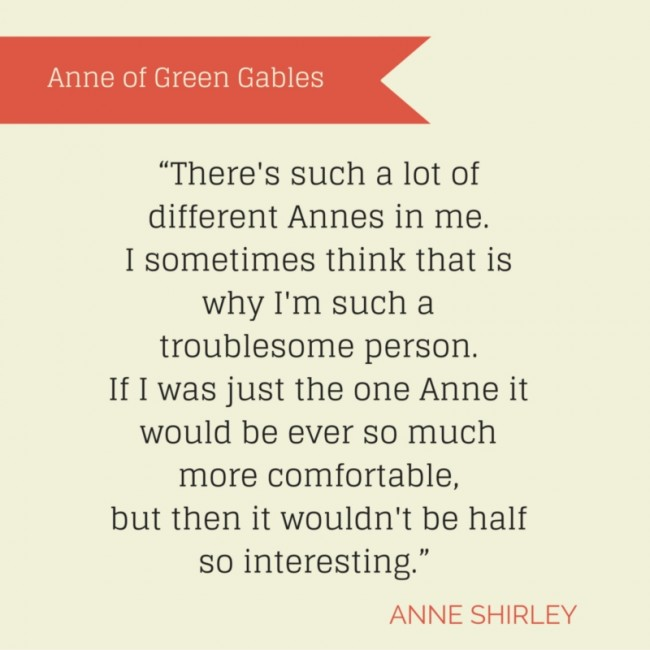 Anne Shirley and Life