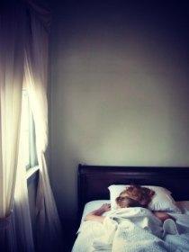 woman sleeping in new orleans