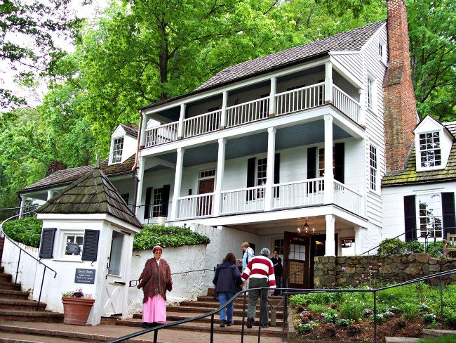 Spend the day in Charlottesville, VA, and enjoy lunch at Historic Michie Tavern