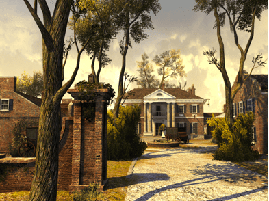 Assassin's Creed III Virginia Plantation Scene