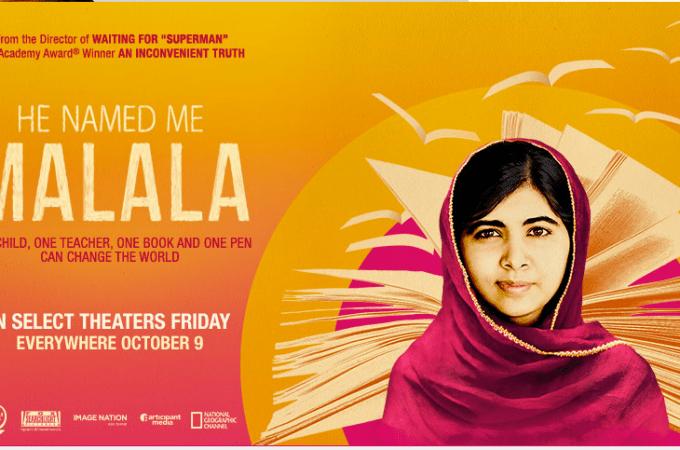 He Named Me Malala #withMalala