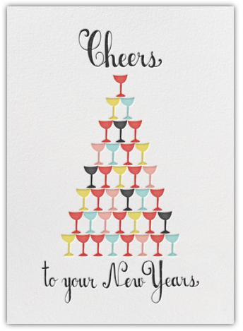 The Perfect New Year's Greeting Cards from Paperless Post