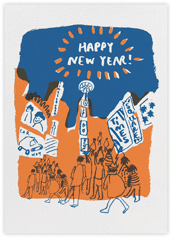 Perfect New Year's Greetings from Paperless Post