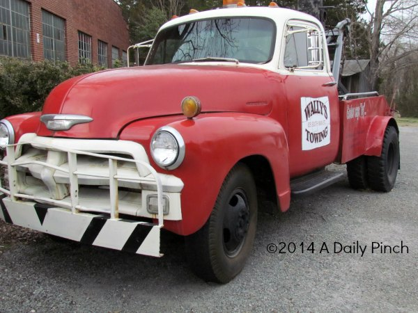 Wally's Towing, Mayberry, NC