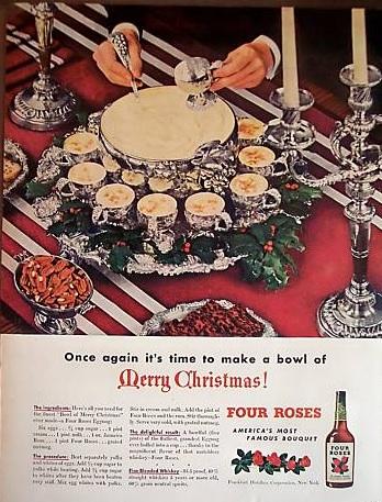 Great Christmas Cocktails - Four Roses Eggnog