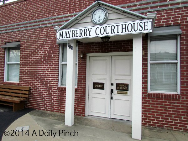 The Courthouse: Mayberry, NC