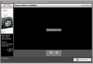 mercalli is quick and easy to use when editing videos