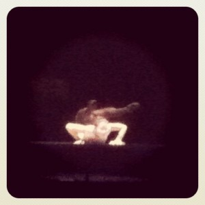 Chinese contortionist