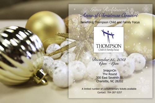 Gina Robinson's Annual Christmas Concert Benefiting Thompson Child and Family Focus