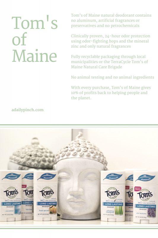 Tom's of Maine long-lasting deodorant