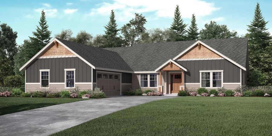 The Klickitat   Custom Home Floor Plan   Adair Homes the Klickitat