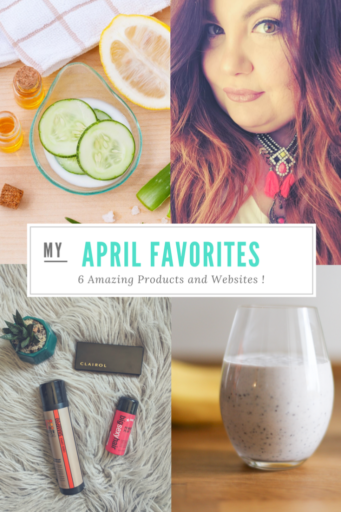 April Favorites: 6 Amazing Product and Websites that I'm Living for Right Now!
