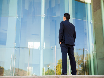 businessman thinking picture