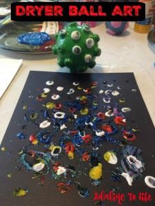 Dryer Ball Art 7