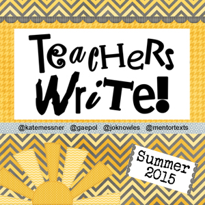Teachers Write 2015