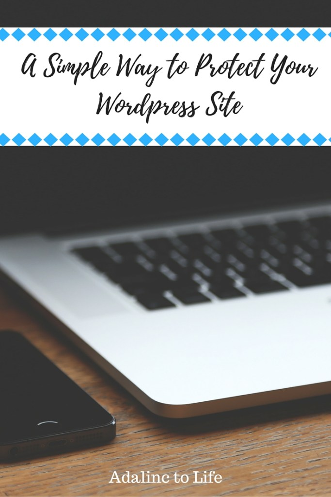 A Simple Way to Protect Your WordPress Site