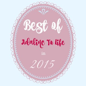 the top posts on the blog Adalinc to Life in 2015