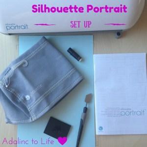Silhouette Portrait Set Up