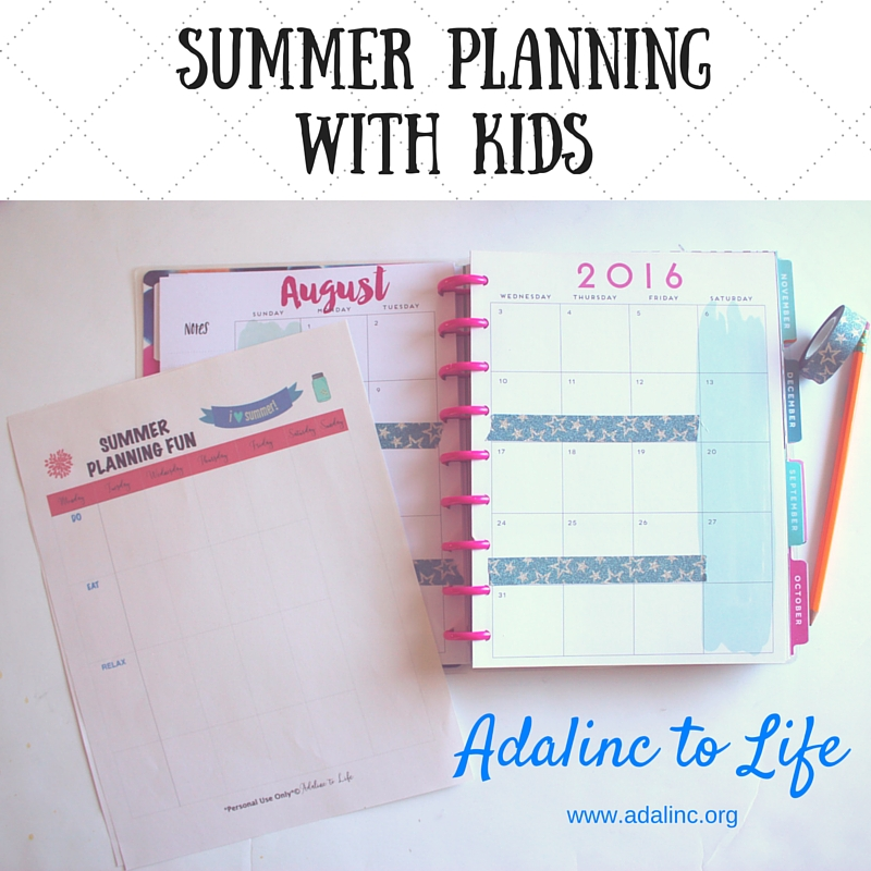 Summer Planning with kids 3