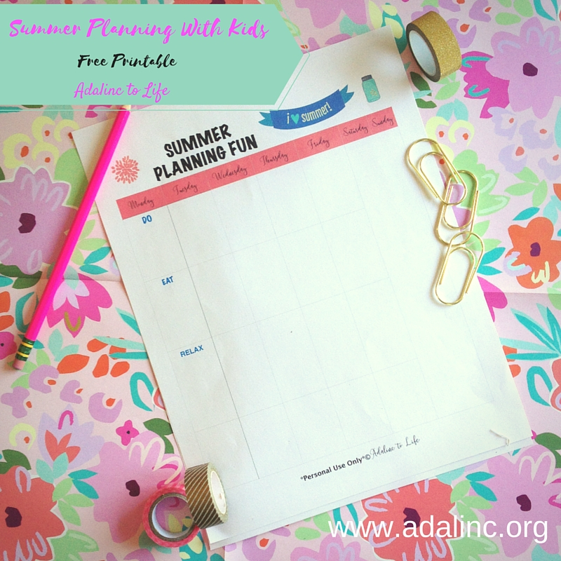 Summer Planning with kids 4
