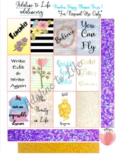 Random Happy Planner Boxes 1 2 with watermark