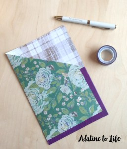 DIY pocket folders for your traveler's notebook
