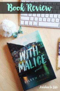 With Malice book review young adult psychological thriller