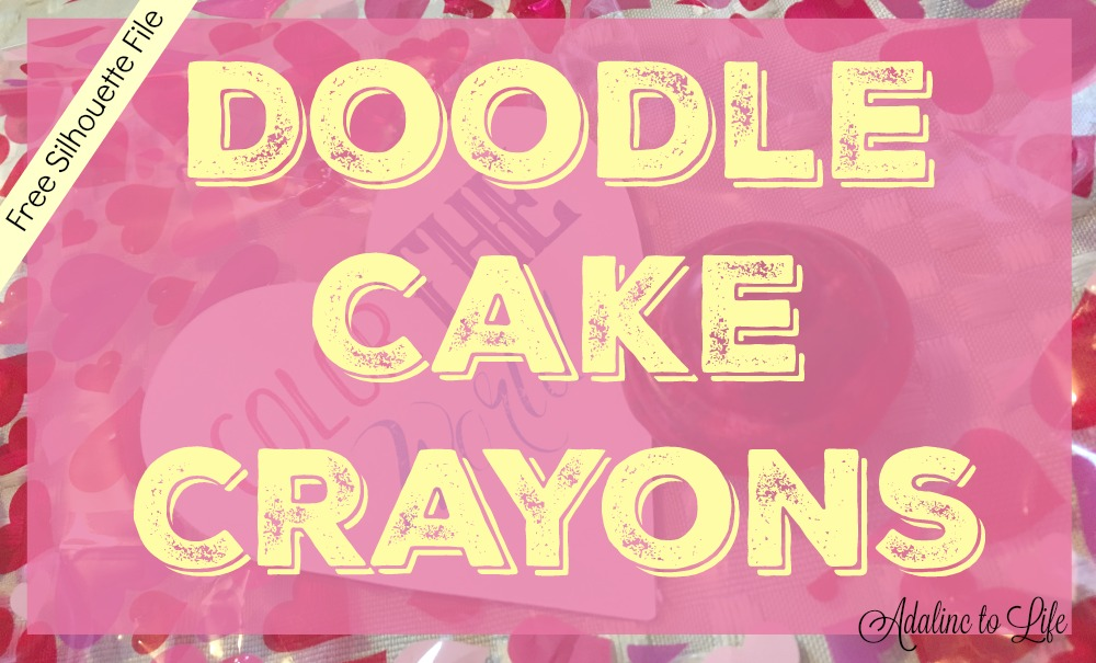 Easy to Make Doodle Cake Crayons