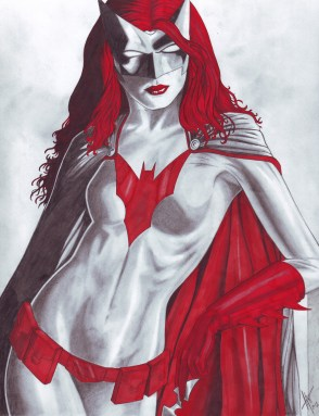 Batwoman Red