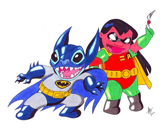 BatStitch & LiRobin colorpencil