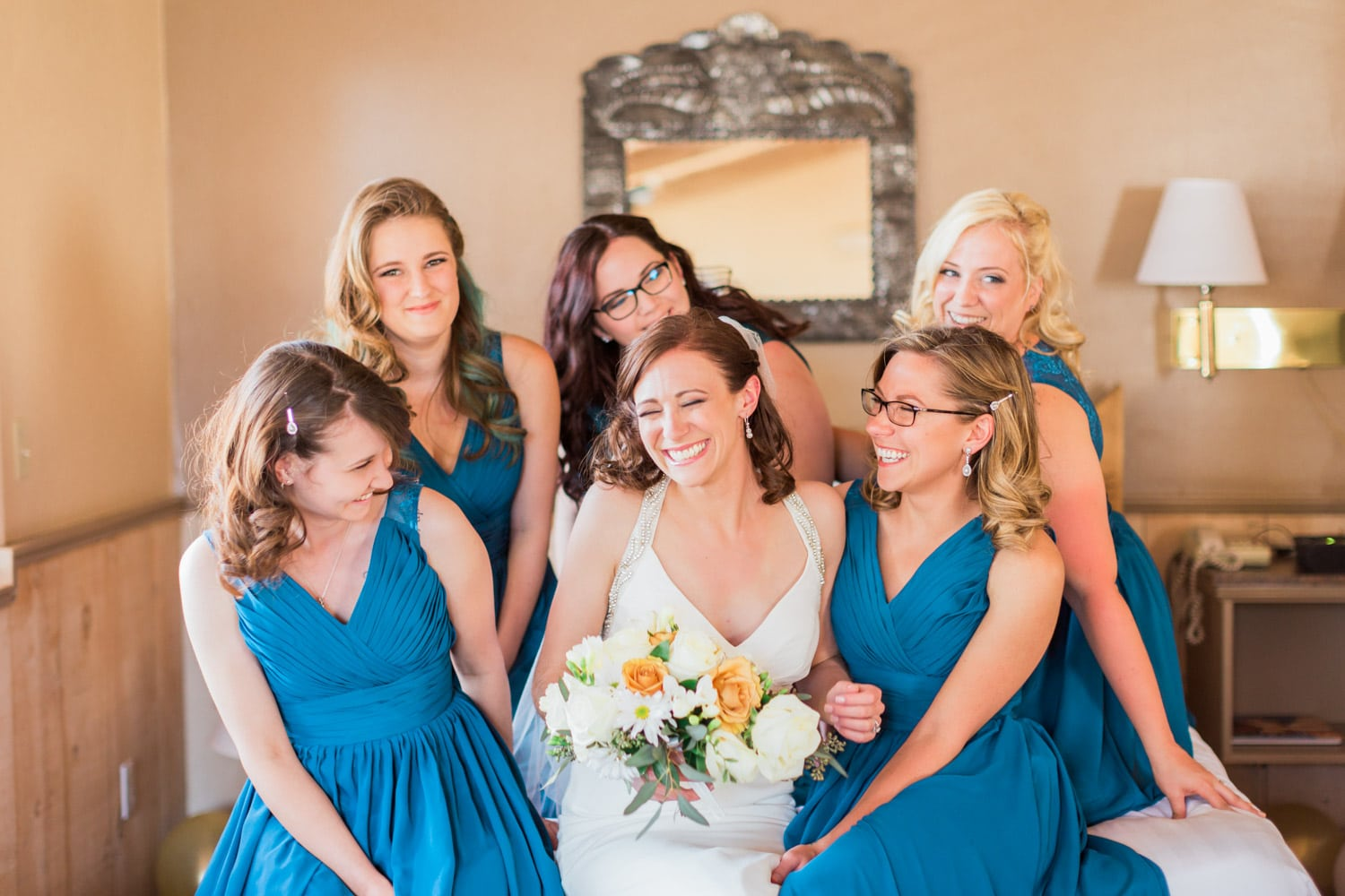 Bridesmaids at Sky Ranch Lodge