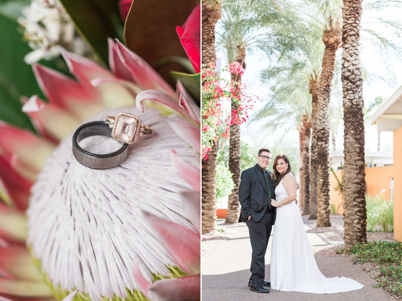 Sugar bush wedding bouquet