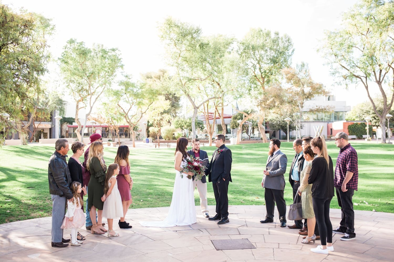 Scottsdale Civic Park Wedding