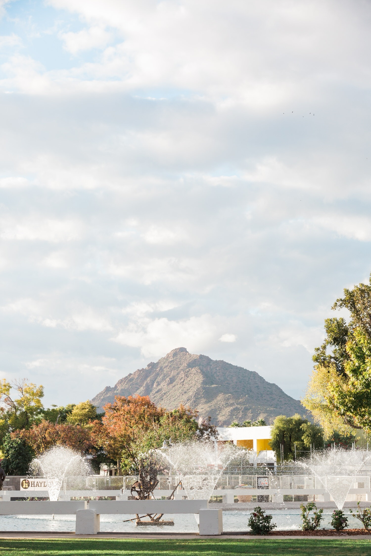 Camelback Mountain from Scottsdale