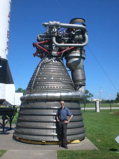 Saturn V First Stage Motor
