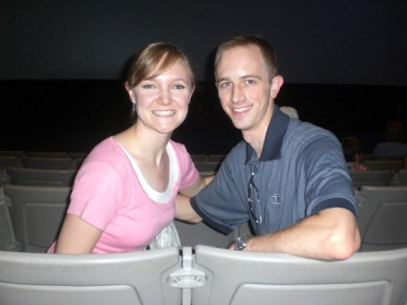 Adam & Sarah at Space Center