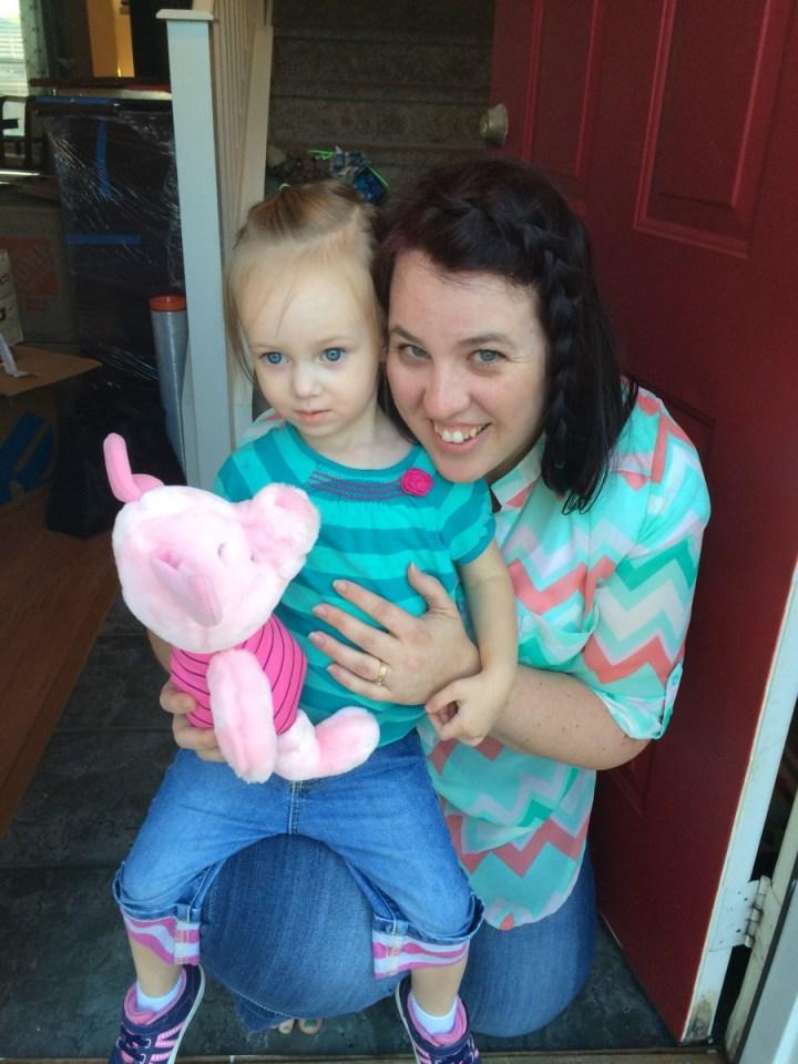 Eliza and her great nursery teacher Sister Fuller