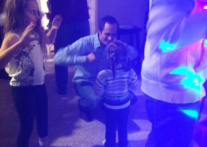 06 Daddy and Eliza dancing