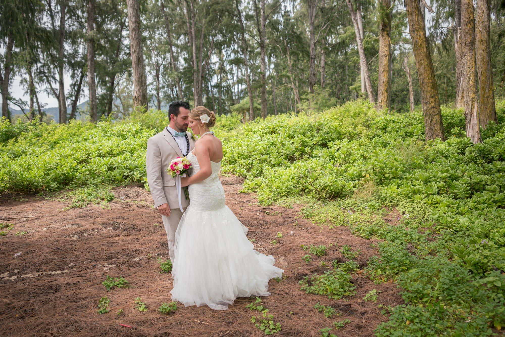 Sherwood Forest Wedding Waimanalo Oahu Hawaii Wedding Photographer