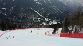 Super G course inspection
