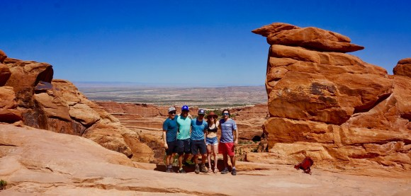 Friends at Moab