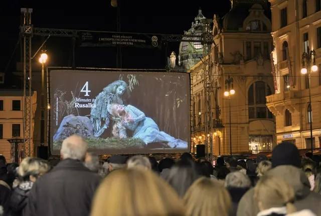 Rusalka in HD in Prague